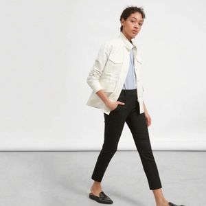 Everlane Modern Utility Jacket Bone White Size S